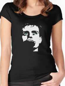 Ian Curtis, touching from a distance Women's Fitted Scoop T-Shirt