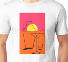Pop Art Martini Glass Shaker Endless Unisex T-Shirt