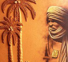 Tuareg Man by Omar Dakhane