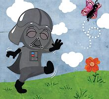 Star Wars babies - inspired by Darth Vader by GinormousRobot