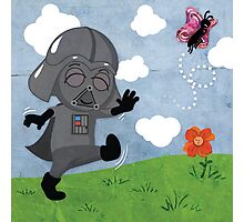 Star Wars babies - inspired by Darth Vader Photographic Print