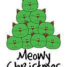 Meowy Christmas by Fiona Doyle