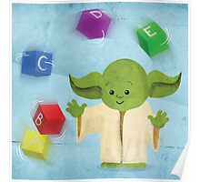 Star Wars babies - inspired by Yoda Poster