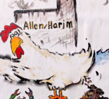 Don't Let Harim Cluck your Health Sticker