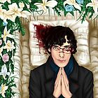 Sherlock Casket Pillow by sakibatch