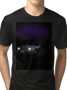 Night Nissan N13 EXA Tri-blend T-Shirt