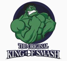 The Original King of Smash (Green Edition) Kids Clothes