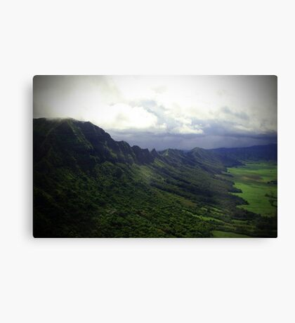 Green Giants Valley - Napali Coast - Kauai  Canvas Print