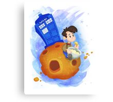 Doctor Who babies - inspired by Doctor Who Canvas Print