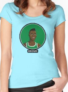 Dee Brown - Celtics Women's Fitted Scoop T-Shirt