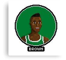 Dee Brown - Celtics Canvas Print