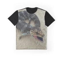 Coral Bay Blue Tongue Graphic T-Shirt