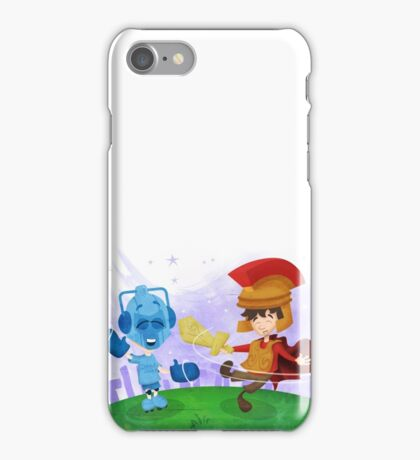 Doctor Who babies - inspired by Rory and the Cybermen iPhone Case/Skin