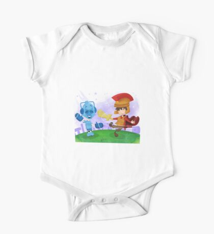 Doctor Who babies - inspired by Rory and the Cybermen One Piece - Short Sleeve