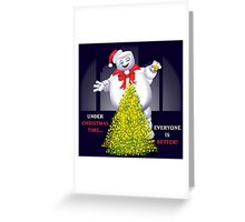Christmas Staypuft Greeting Card