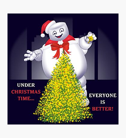 Christmas Staypuft Photographic Print