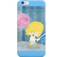 Star Wars babies - inspired by Luke Skywalker iPhone Case/Skin