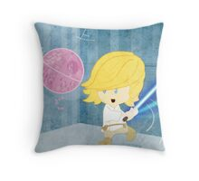 Star Wars babies - inspired by Luke Skywalker Throw Pillow