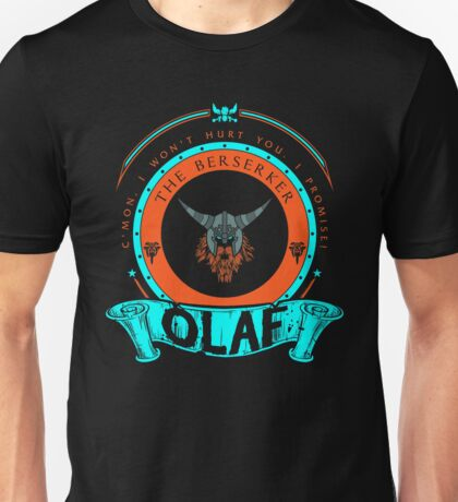 Olaf - The Berserker Unisex T-Shirt