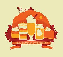 Holy Pumpkin Everything by Stéphanie Gauthier