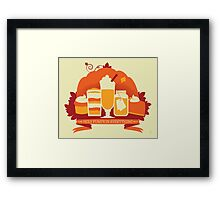 Holy Pumpkin Everything Framed Print