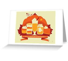 Holy Pumpkin Everything Greeting Card