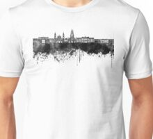 Bogota skyline in black watercolor Unisex T-Shirt