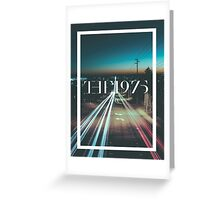 The 1975 - City Greeting Card