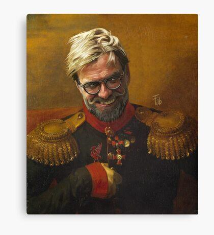 Jurgen Klopp - das Normal One Canvas Print