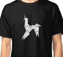 BLADERUNNER ORIGAMI UNICORN Classic T-Shirt