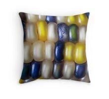 Flint Corn Color Throw Pillow