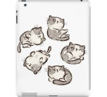 Impudent cats relax iPad Case/Skin