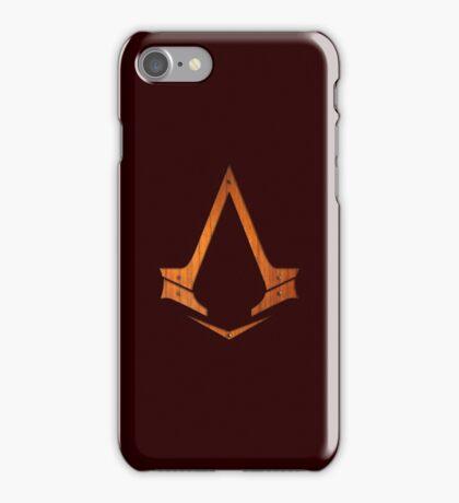 ASSASSINS - wood version iPhone Case/Skin