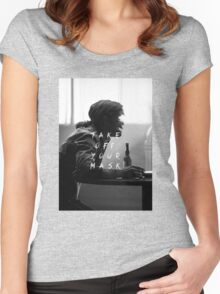 True Detective : Take Off Your Mask Women's Fitted Scoop T-Shirt