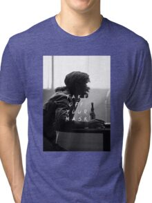 True Detective : Take Off Your Mask Tri-blend T-Shirt