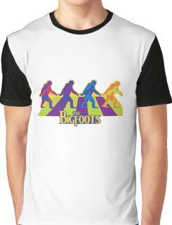 The Bigfoots Sasquatch Legend Funny Unisex T-shit Graphic T-Shirt