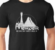 one does not simply walk in mordor Unisex T-Shirt