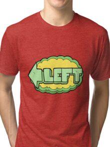 cartoon left symbol Tri-blend T-Shirt
