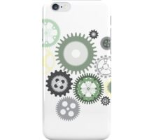 Modern Mechanical Gear iPhone Case/Skin
