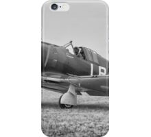 Boomerang in Black and White iPhone Case/Skin