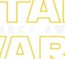 the force awakens  Sticker