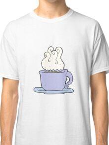 cartoon cup of coffee Classic T-Shirt
