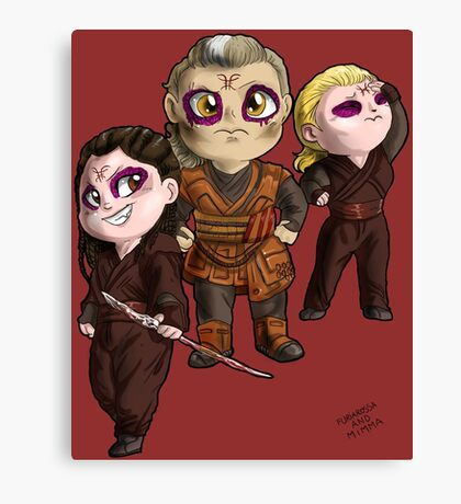 Doctor Strange - Kaecilius and two zealots Canvas Print
