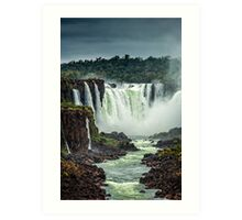 Iguaza Falls - No. 5 Art Print