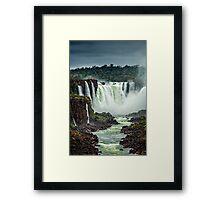 Iguaza Falls - No. 5 Framed Print