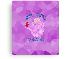 """LSP, Watercolours. """"Oh. My. Glob."""" Canvas Print"""