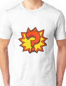 cartoon question mark Unisex T-Shirt
