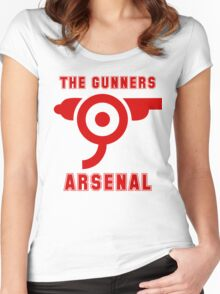 The Gunners - Arsenal Women's Fitted Scoop T-Shirt