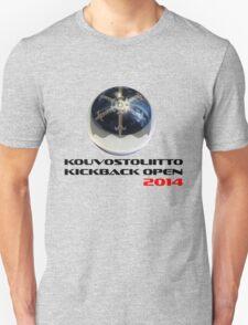 Kouvostoliitto Kickback Open 2014 Unisex T-Shirt