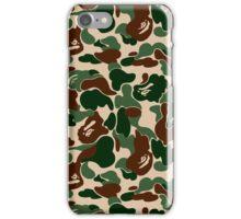 Bathing Ape Woodland Camo iPhone Case/Skin
